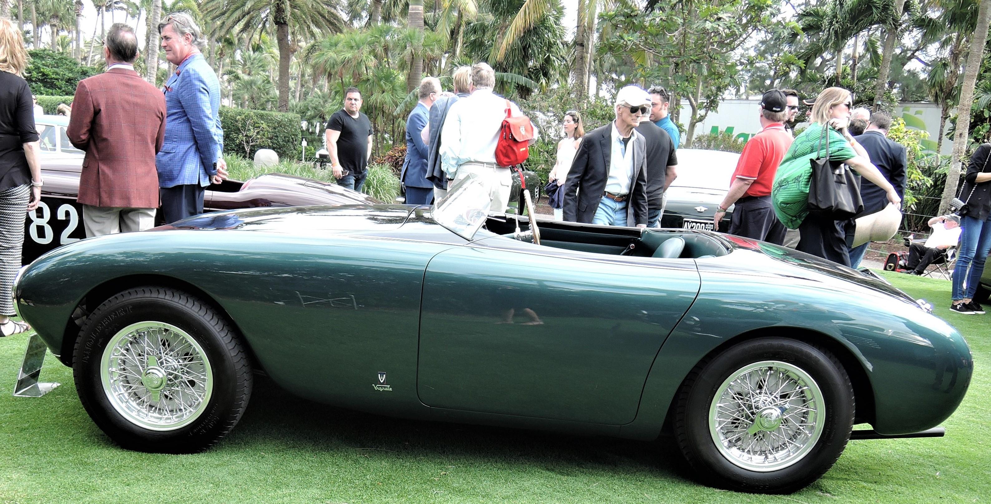 verde green 1951 Ferrari 212 Export Vignale Spyder; Sn 0090 E - Cavallino 2018 Concours