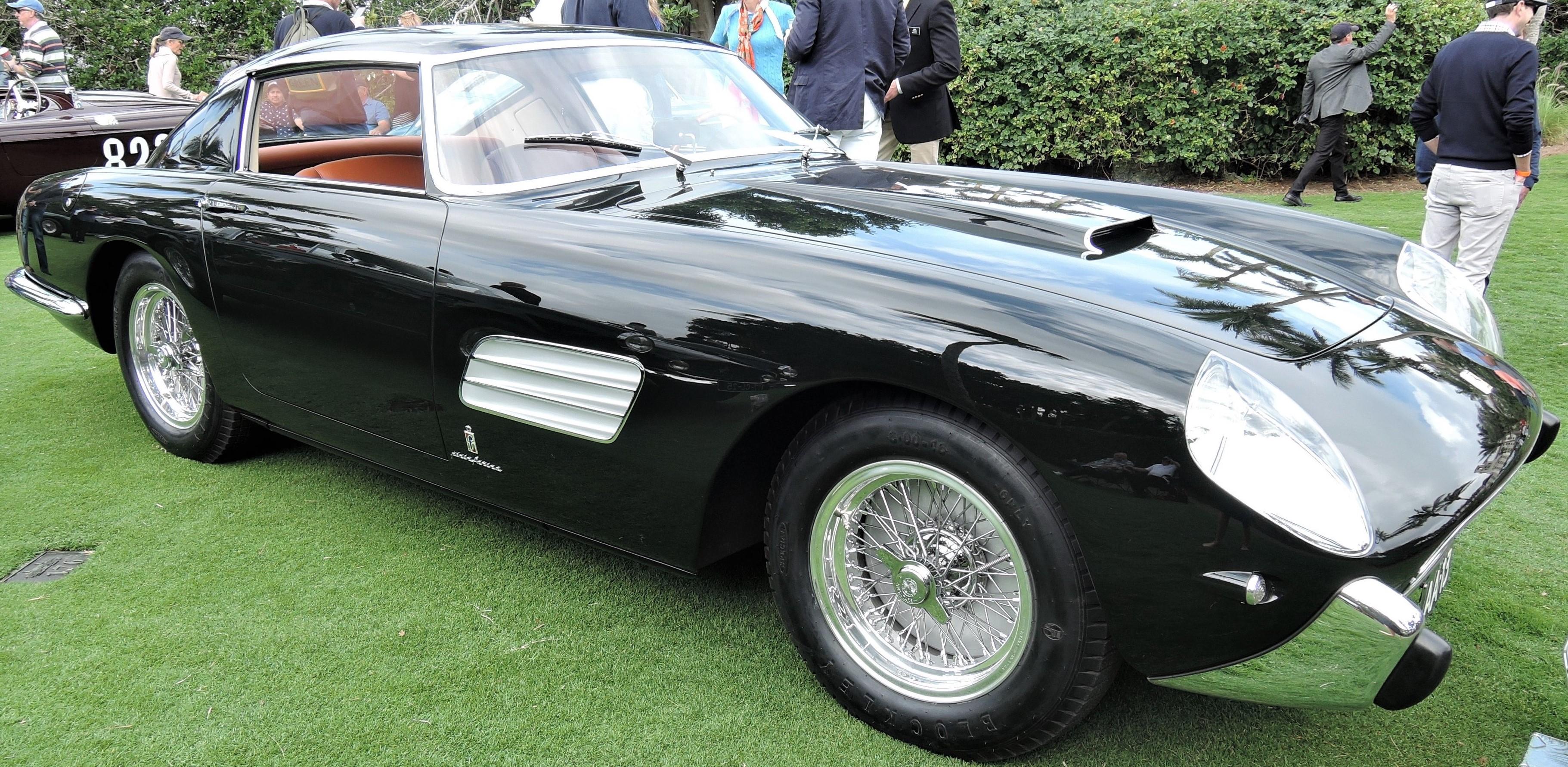 black 1957 Ferrari 250 GT Pinin Farina Speciale Coupe Sn 0725 GT - Cavallino 2018 Concours