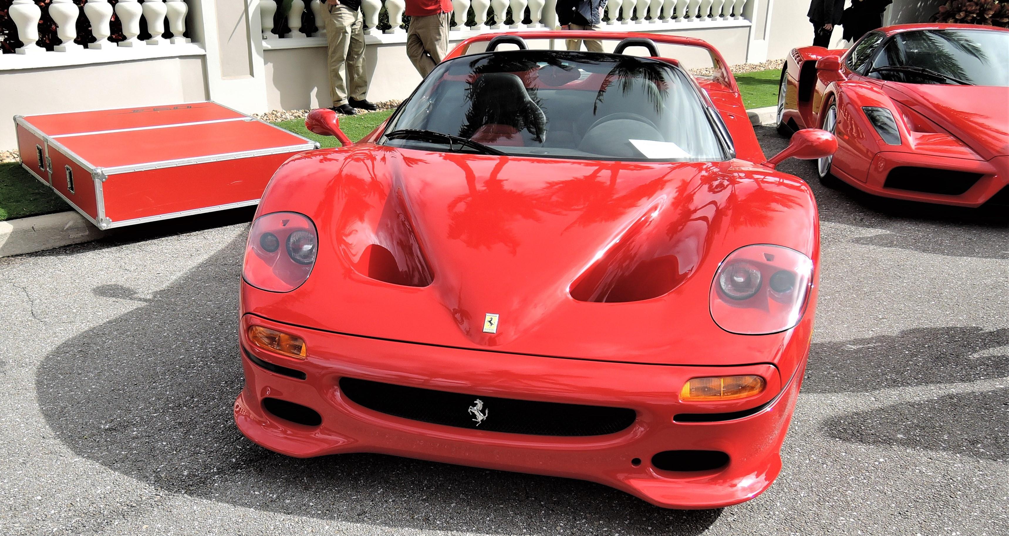 red 1995 Ferrari F50; Sn 103351 - Cavallino 2018 Concours