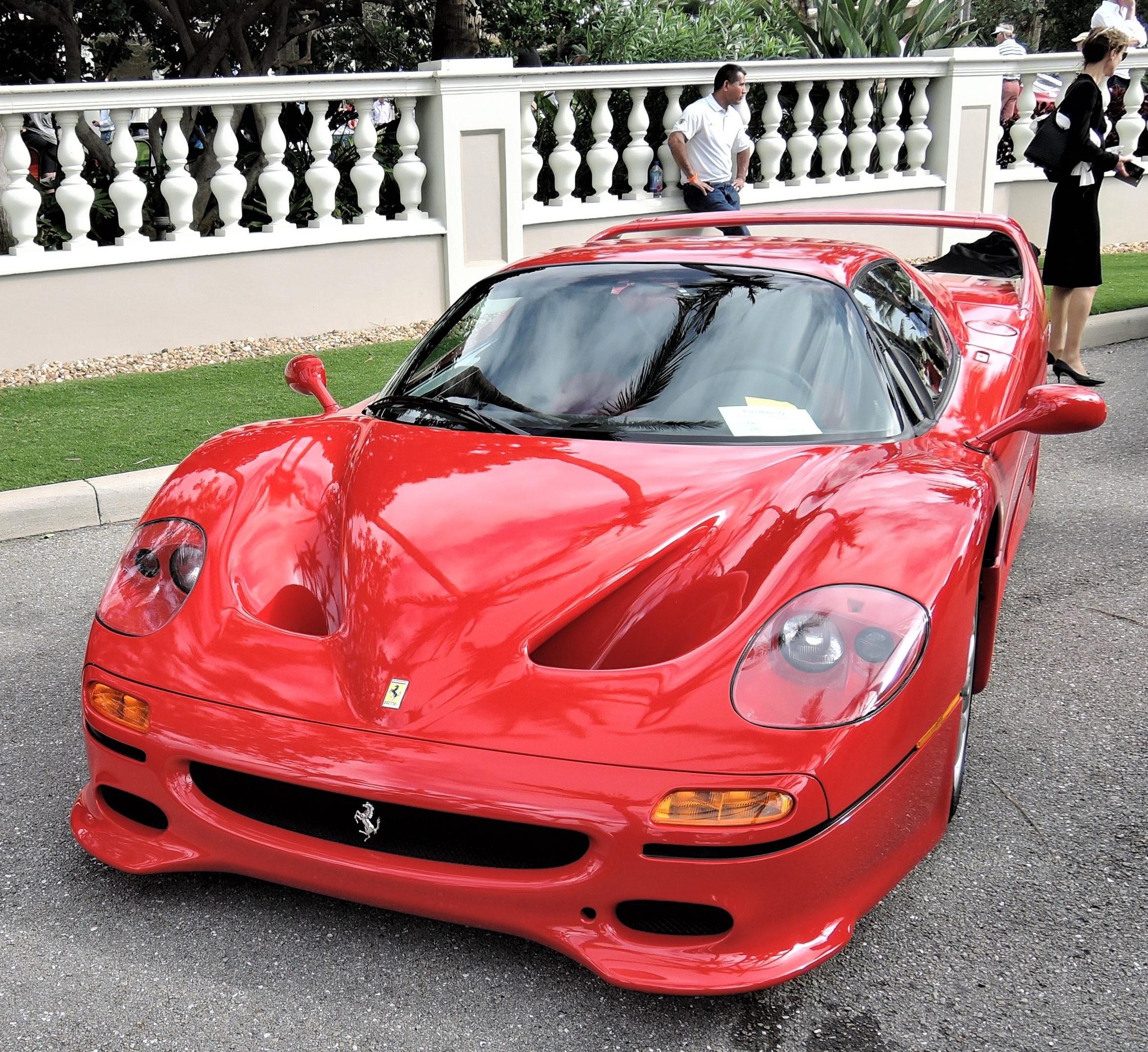 red 1995 Ferrari F50; Sn 104121 - Cavallino 2018 Concours