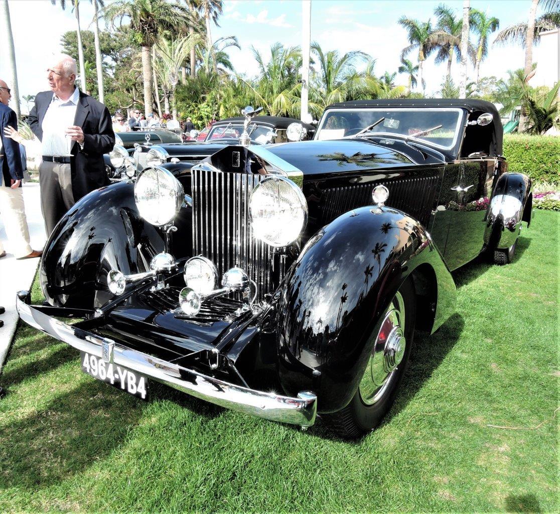 black 1931 Rolls-Royce Phantom II Continental, body by Binder; Sn 41X - 2018 Cavallino Sunday Mar a Lago