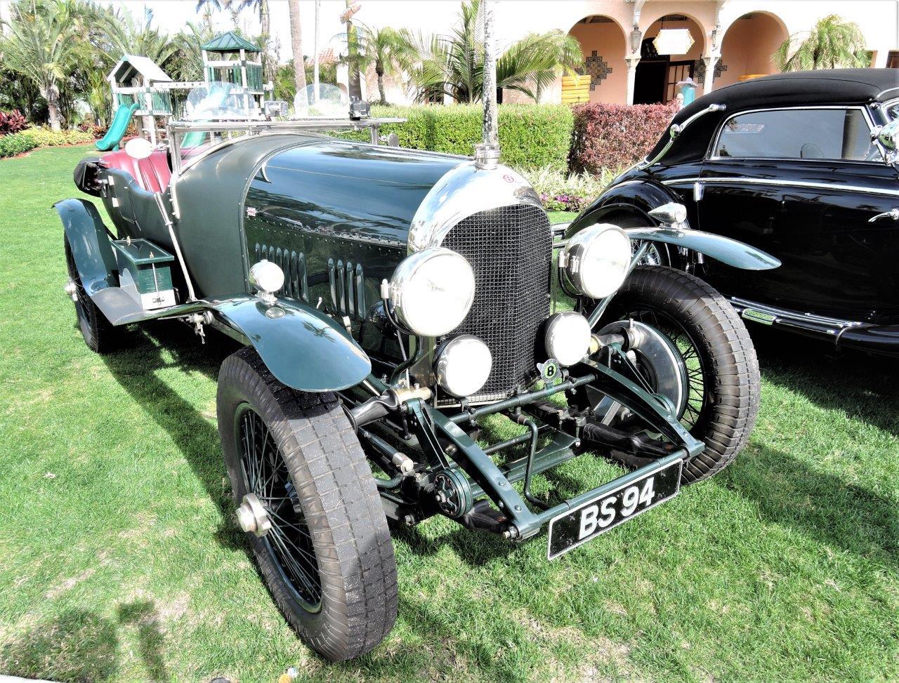 green 1924 Bentley 4.5 Litre; Sn 534 - 1924 Bentley 4.5 Litre; Sn 5342018 Cavallino Sunday Mar a Lago