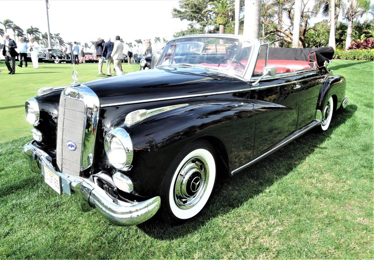 black 1960 Mercedes-Benz 300 D - 2018 Cavallino Sunday Mar a Lago