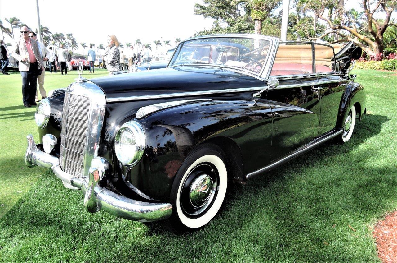black 1954 Mercedes-Benz 300 Cabriolet D; Sn ...01540 - 2018 Cavallino Sunday Mar a Lago