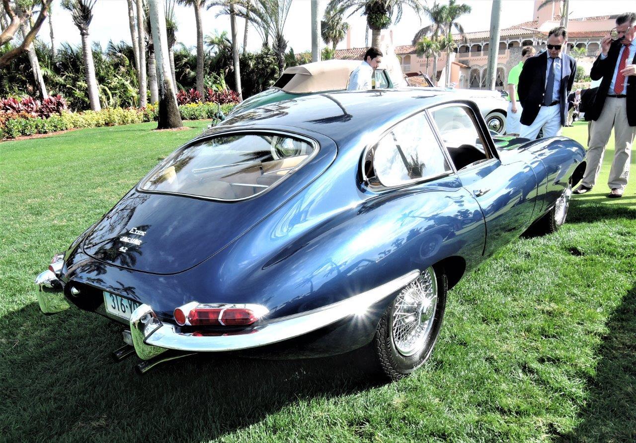 blue 1967 Jaguar XKE E-Type - 2018 Cavallino Sunday Mar a Lago