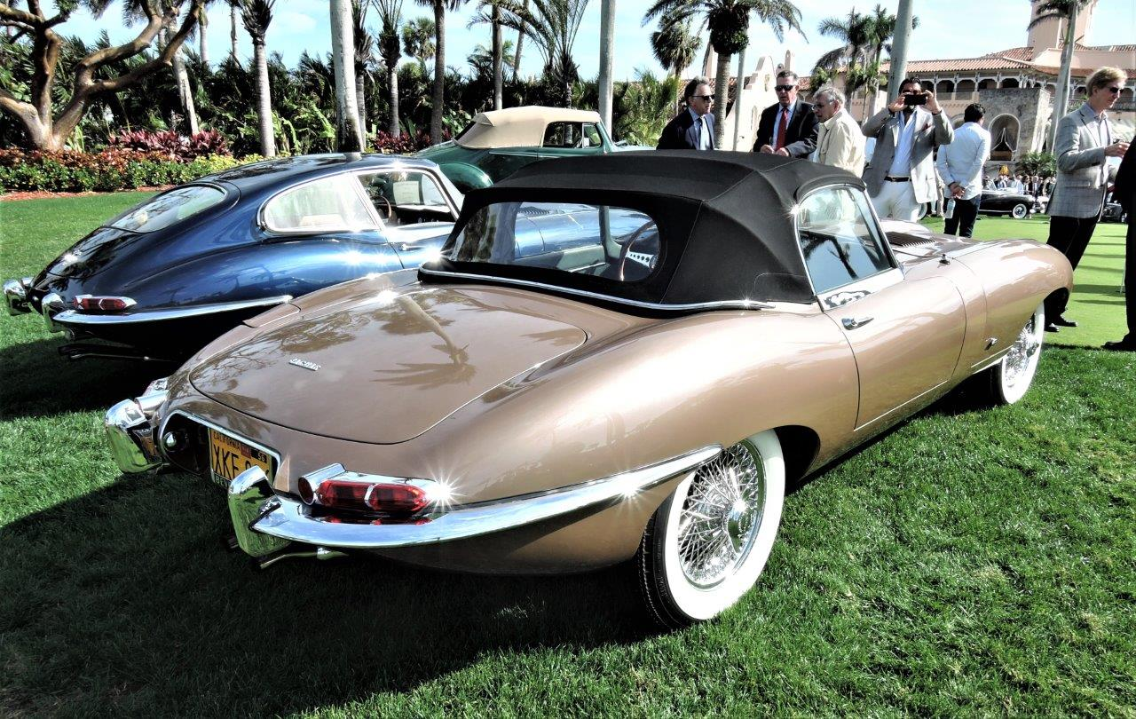 copper 1961 Jaguar E-Type; Sn 875006 - 2018 Cavallino Sunday Mar a Lago