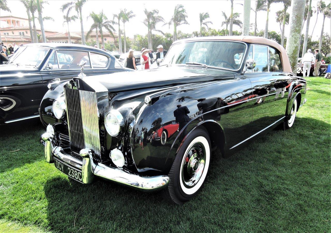 black 1965 Rolls-Royce Silver Cloud III; Sn LCEL 87 - 2018 Cavallino Sunday Mar a Lago
