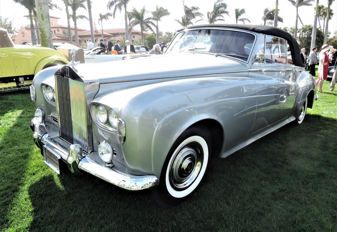 silver 1962 Rolls-Royce S. Cloud III DHC Binder Body; Sn LSCX446 - 2018 Cavallino Sunday Mar a Lago