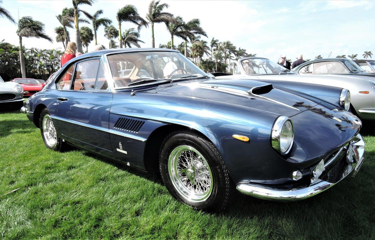 blue 1961 Ferrari 400 Superamerica; Sn 2841 SA - 2018 Cavallino Sunday Mar a Lago
