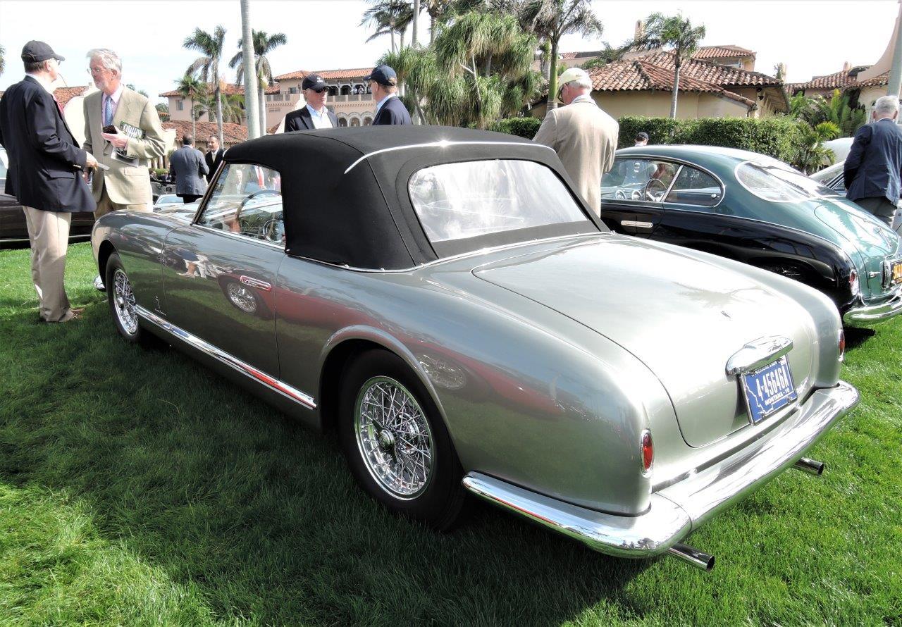silver 1953 Ferrari 342 America PF Cabriolet; Sn 0248 AL - 2018 Cavallino Sunday Mar a Lago