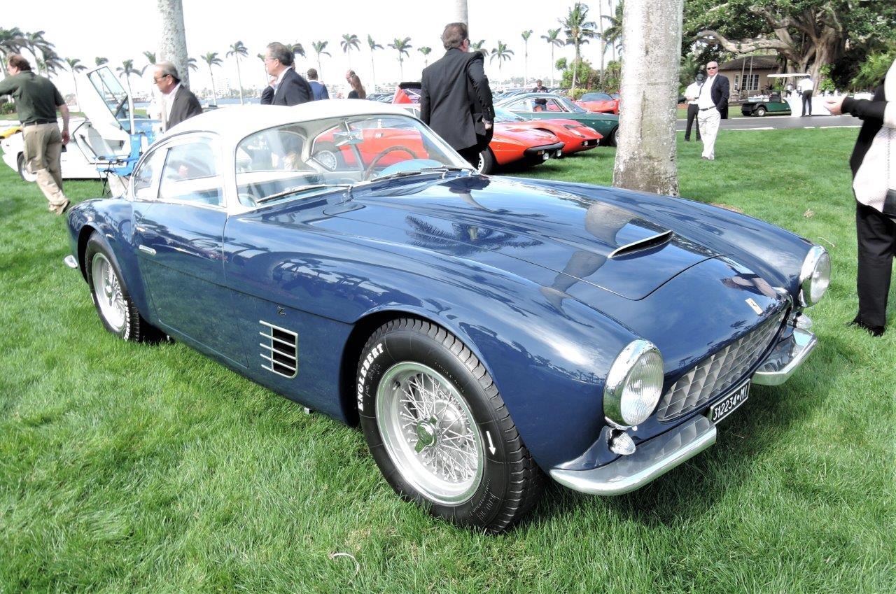 blue 1956 Ferrari 250 GT Zagato; Sn 0515 GT - 2018 Cavallino Sunday Mar a Lago