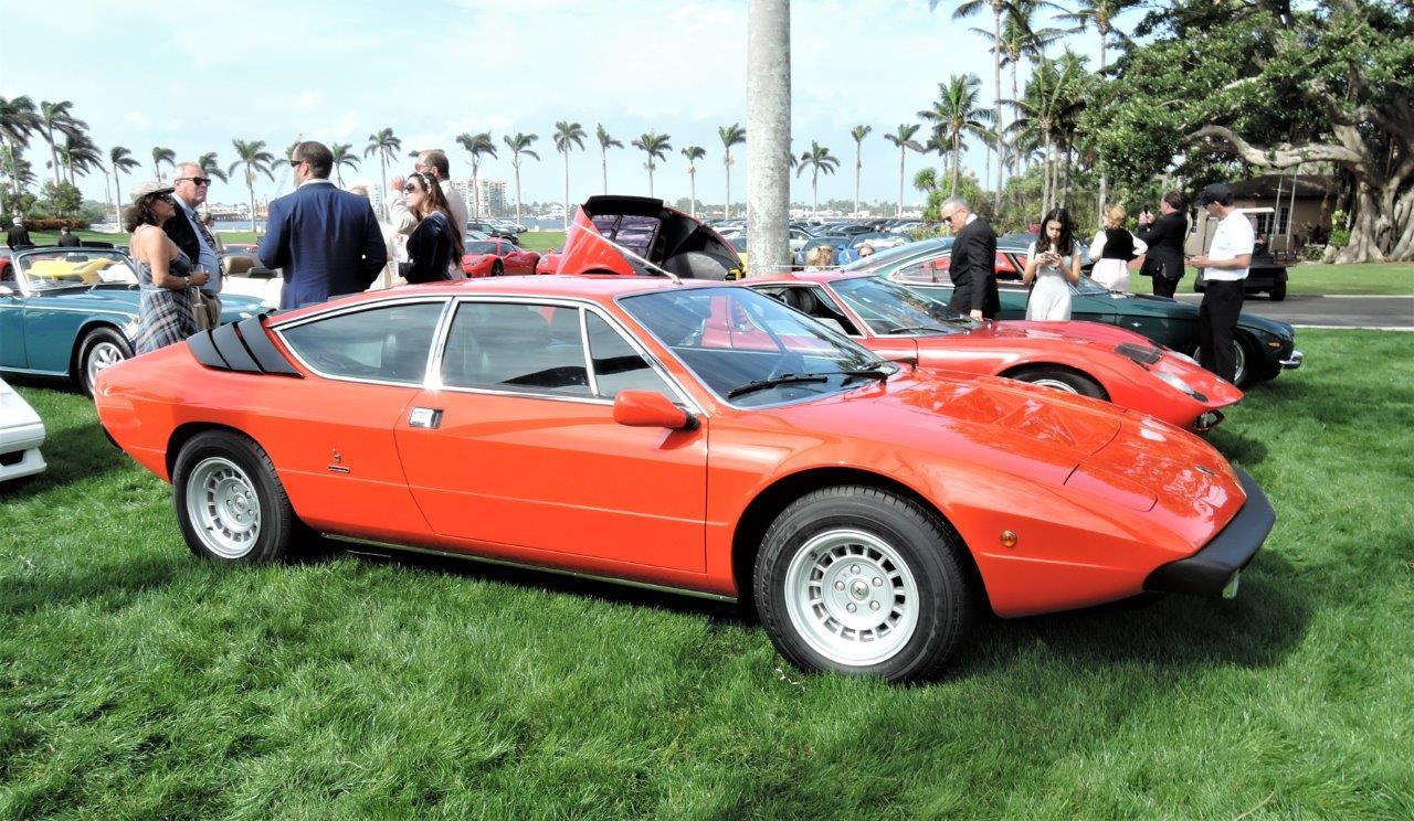 red 1975 Lamborghini Urraco P250; Sn 15826 - 2018 Cavallino Sunday Mar a Lago