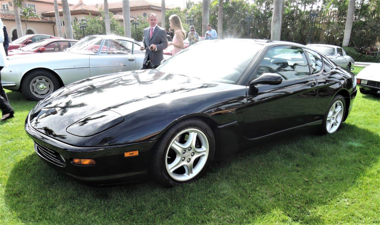blue 1999 Ferrari 456 GT; Sn 445406 - 2018 Cavallino Sunday Mar a Lago