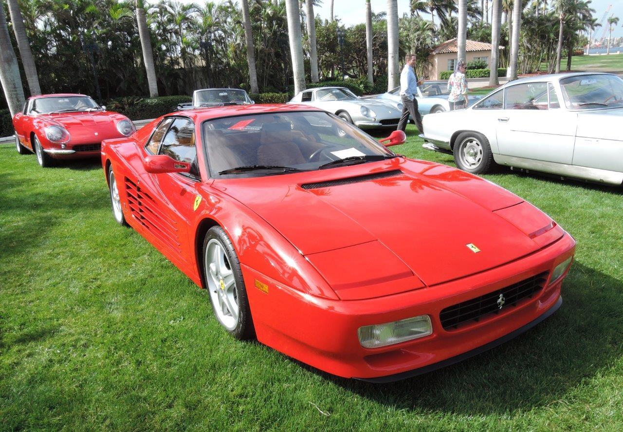 red 1992 Ferrari 512 TR; Sn 92105 - 2018 Cavallino Sunday Mar a Lago