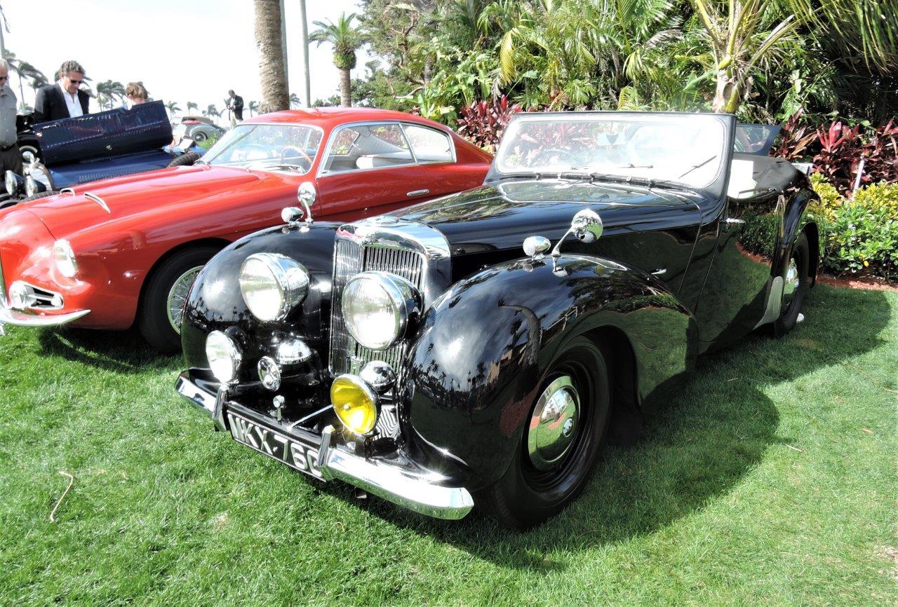 black 1949 Triumph 2000 Roadster; Sn TRA1881 - 2018 Cavallino Sunday Mar a Lago