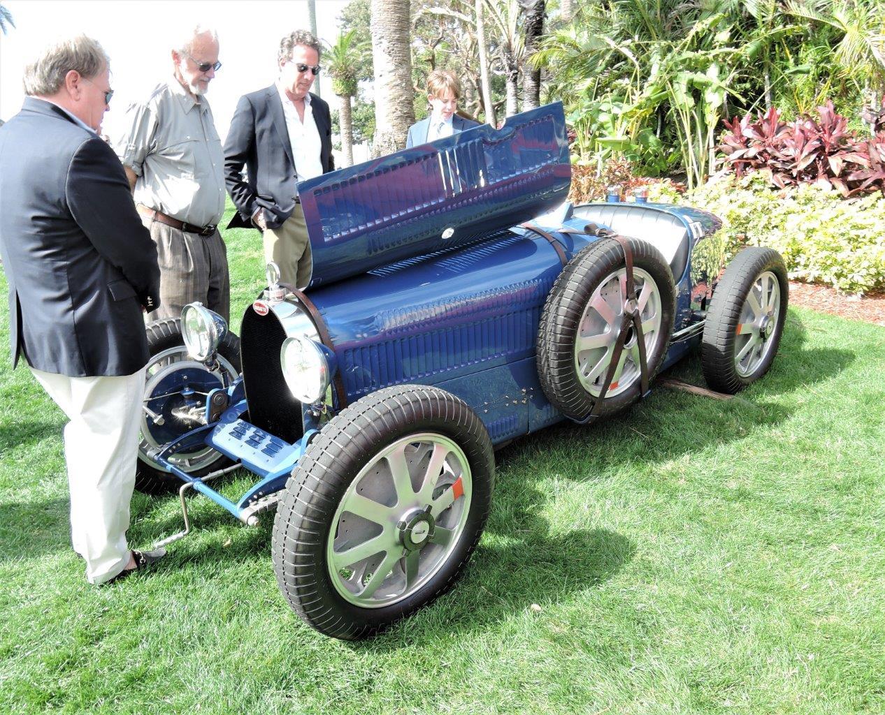 blue 1930 Bugatti Type T35B Grand Prix; Sn 4948 - 2018 Cavallino Sunday Mar a Lago
