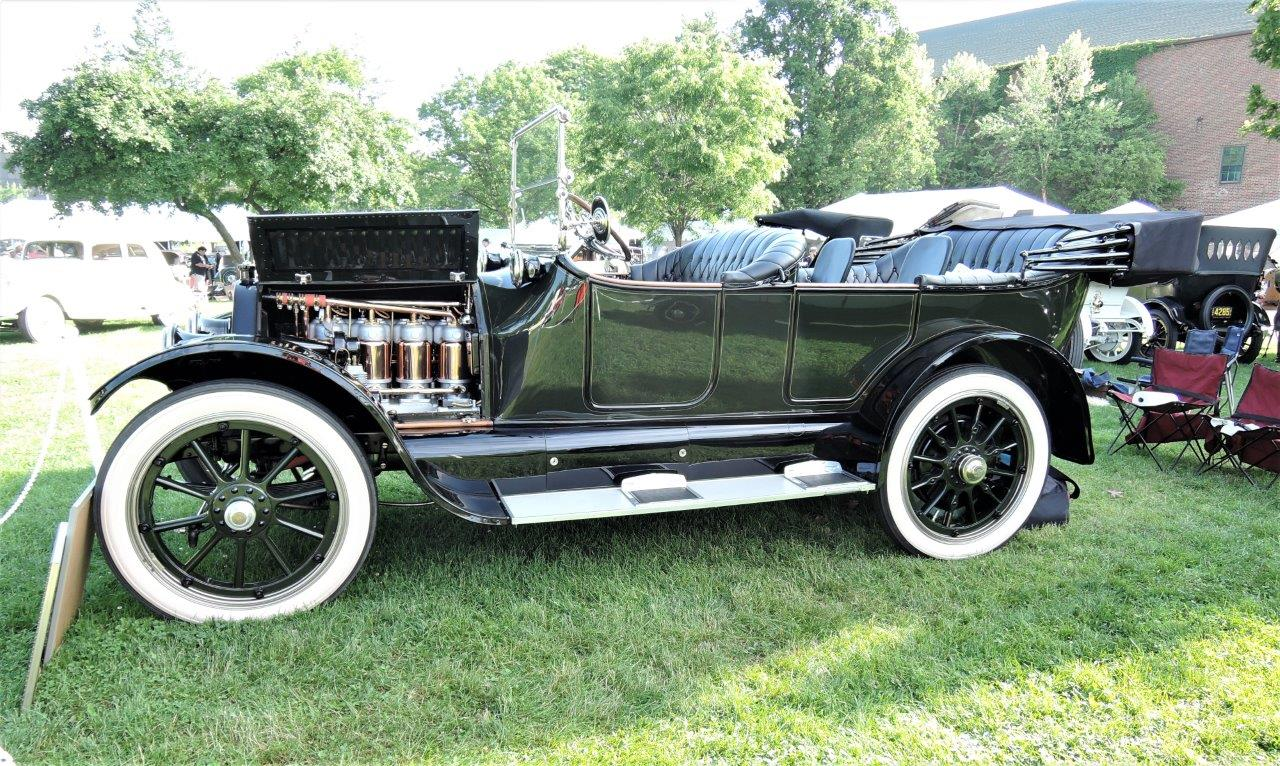 black 1914 Cadillac Seven-Passenger Touring - 2018 Greenwich Concours Americana