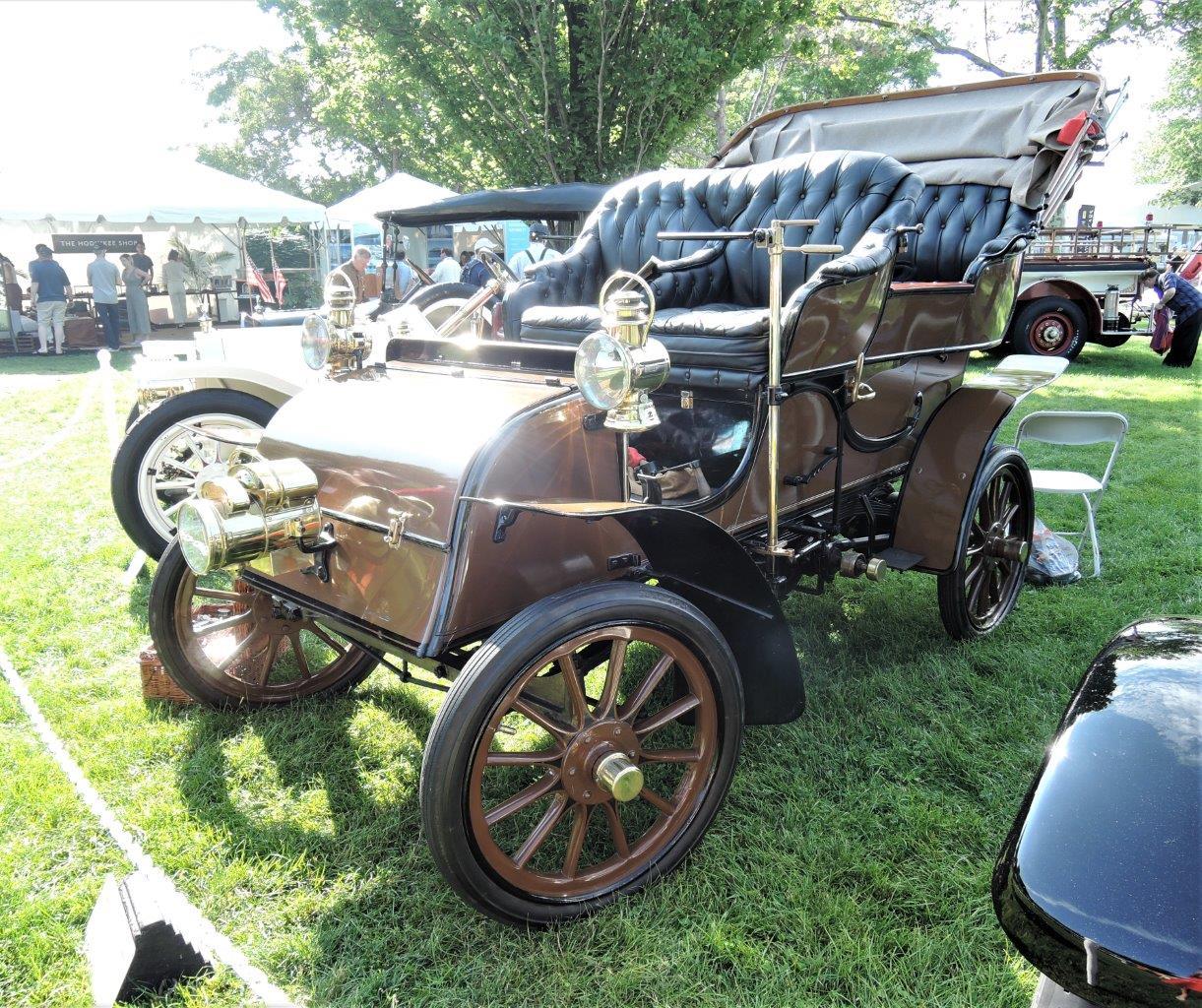 brown 1904 Knox Tuxedo Surrey - Touring Car - 2018 Greenwich Concours Americana