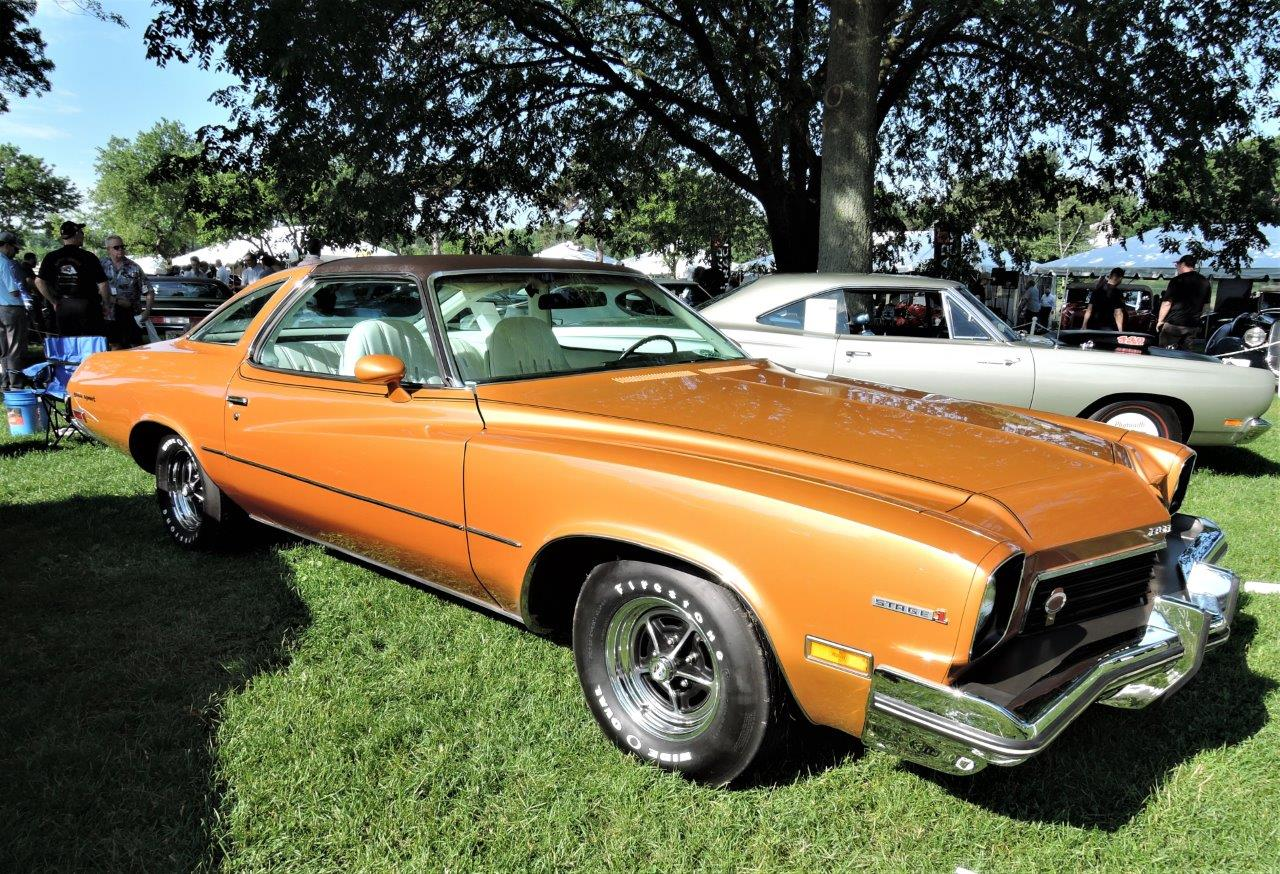orange 1973 Buick Century Gran Sport Stage 1 - 2018 Greenwich Concours Americana