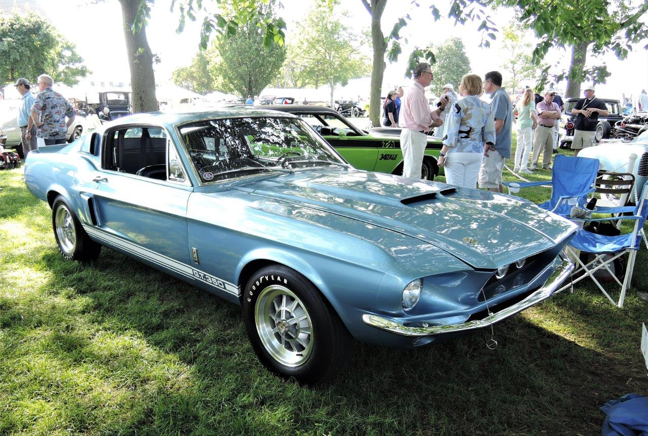 brittany blue 1967 Shelby GT350 Fastback - 2018 Greenwich Concours Americana