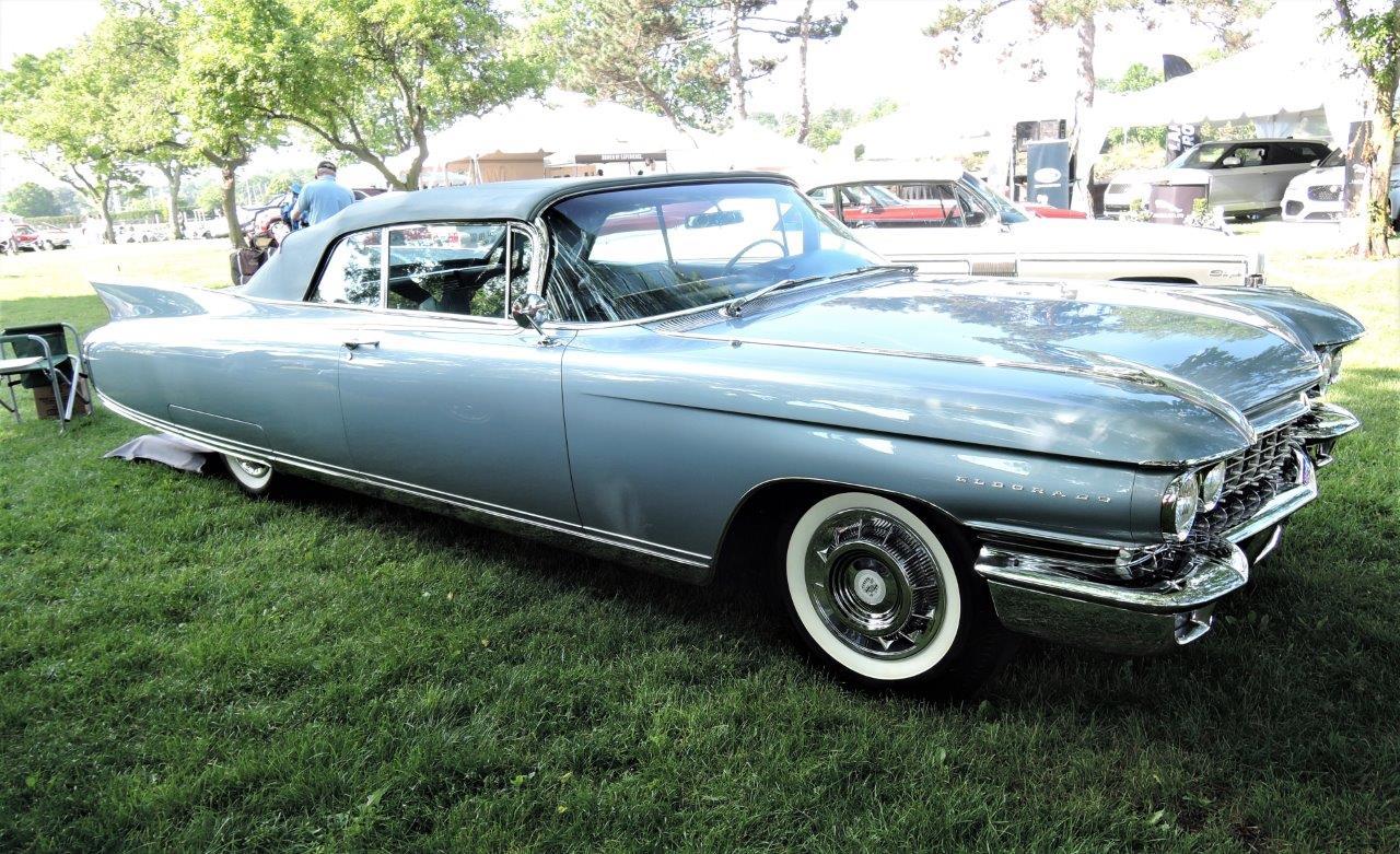 blue 1960 Cadillac Eldorado Biarritz - 2018 Greenwich Concours Americana