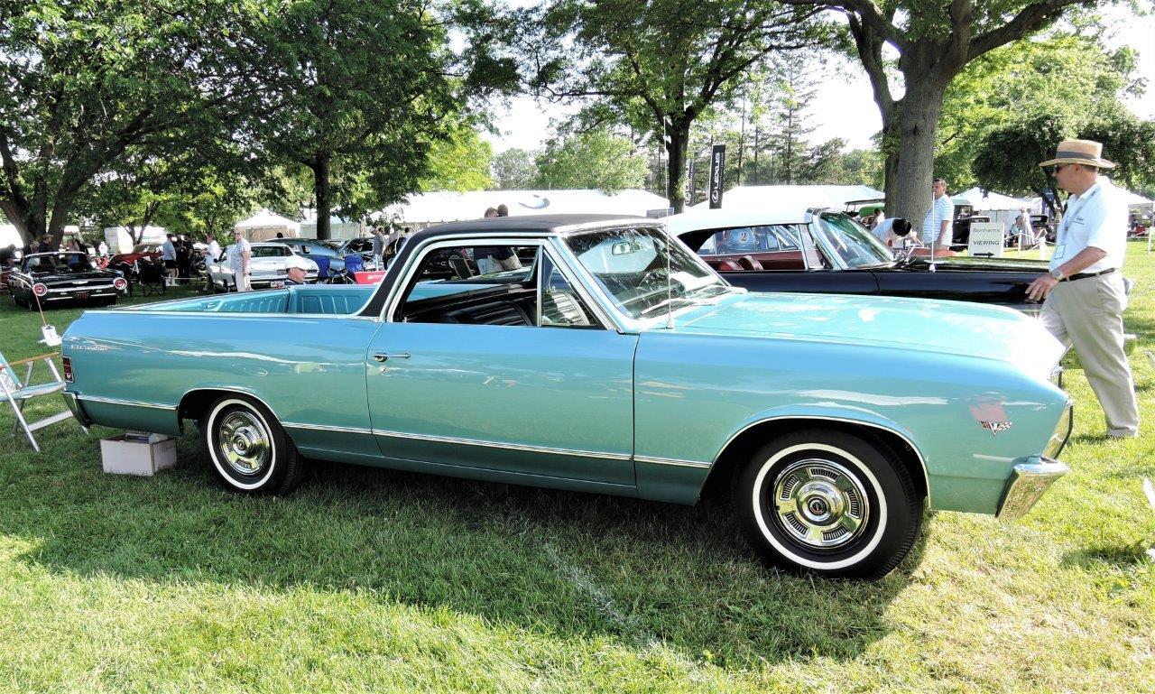 blue 1967 Chevrolet El Camino - 2018 Greenwich Concours Americana
