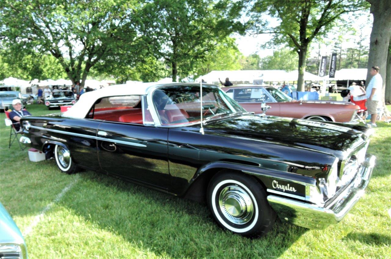 black 1962 Chrysler 300 Convertible - 2018 Greenwich Concours Americana