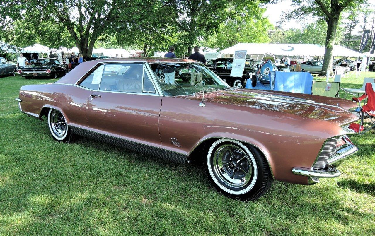 brown 1965 Buick Riviera Gran Sport - 2018 Greenwich Concours Americana