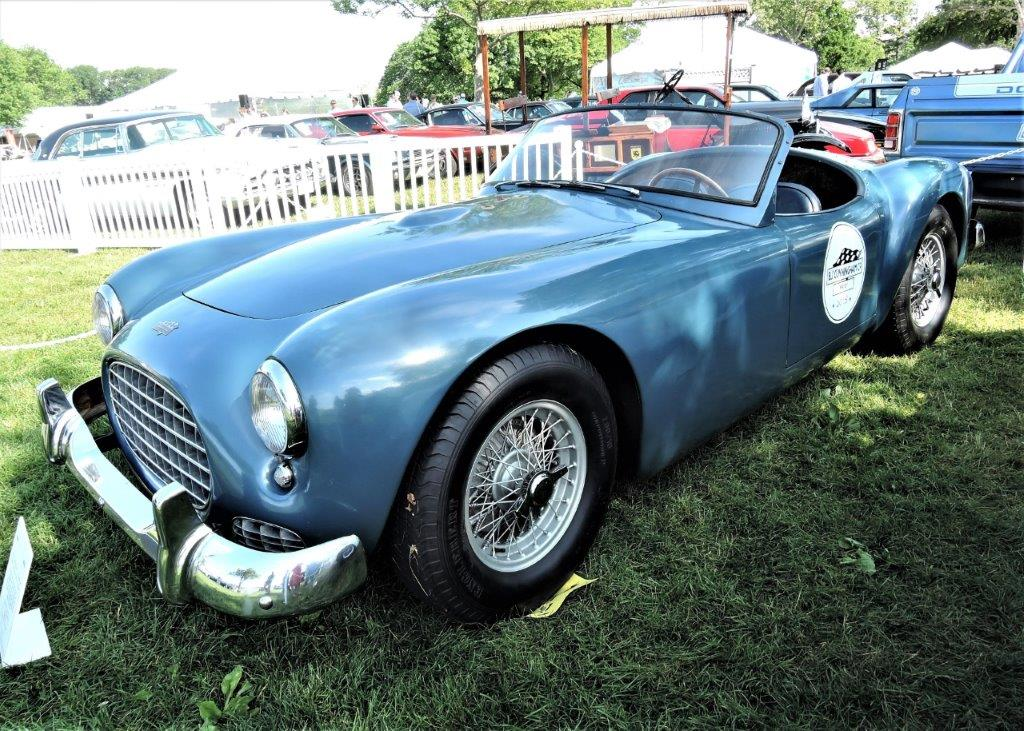 blue 1951 Cunningham C-1 Prototype - 2018 Greenwich Concours Americana
