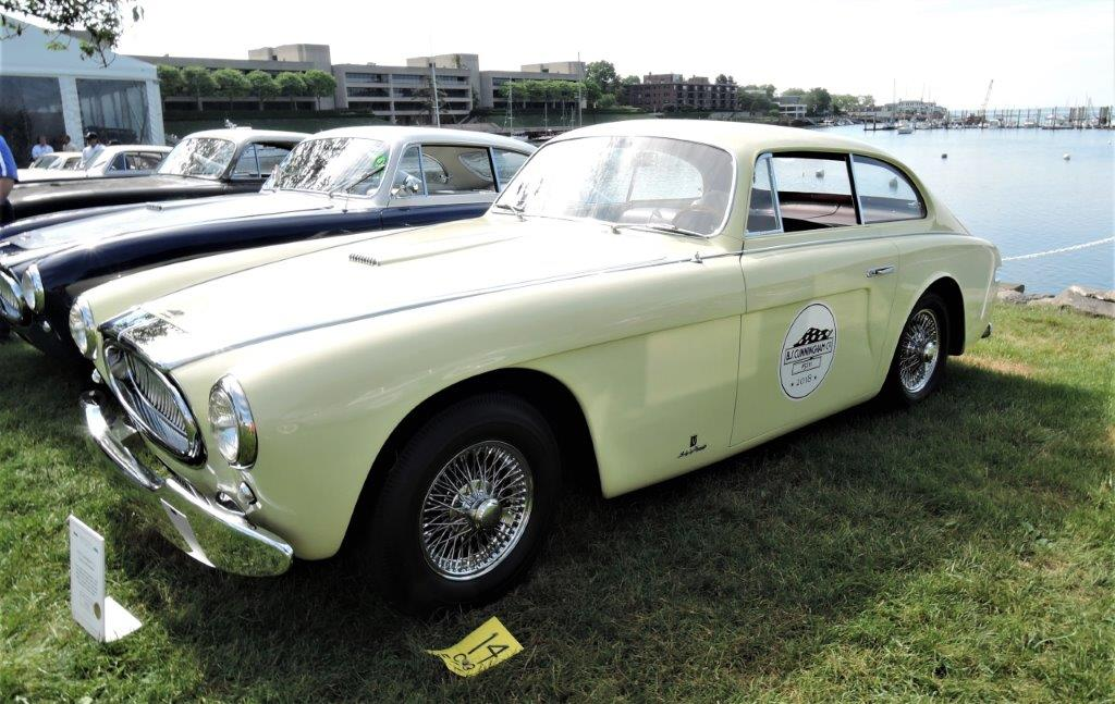 yellow 1953 Cunningham C-3 - 2018 Greenwich Concours Americana
