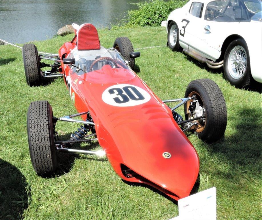 red 1962 Stanguellini Deltino Formula Junior - 2018 Greenwich Concours Americana