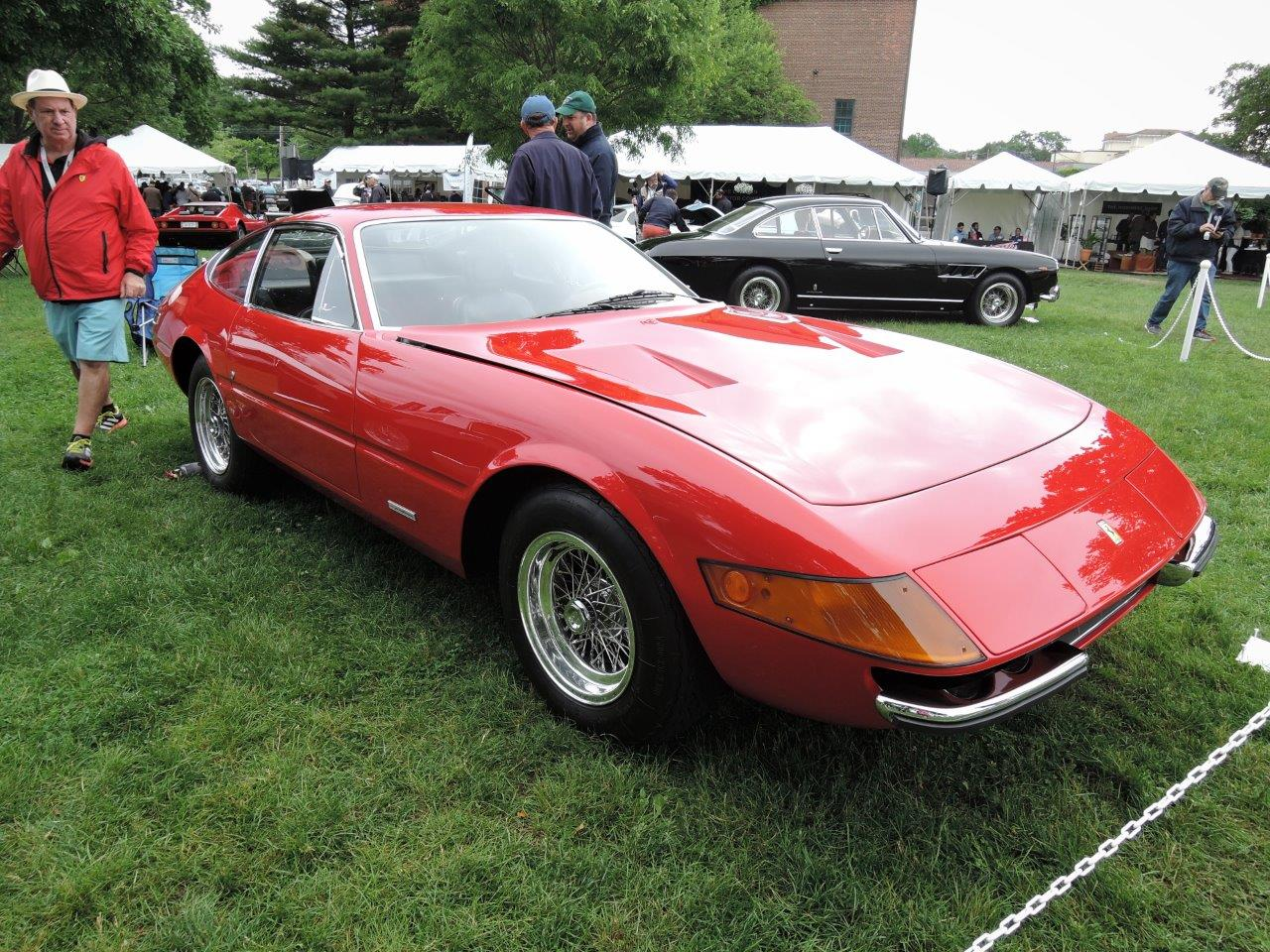 red 1972 Ferrari 365 GTB/4 Daytona - 2018 Greenwich Concours International