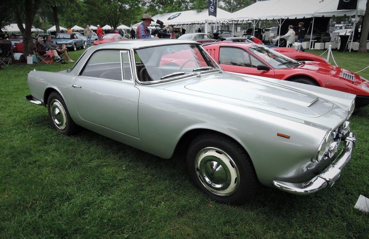 silver 1960 Lancia Flaminia GT - 2018 Greenwich Concours International