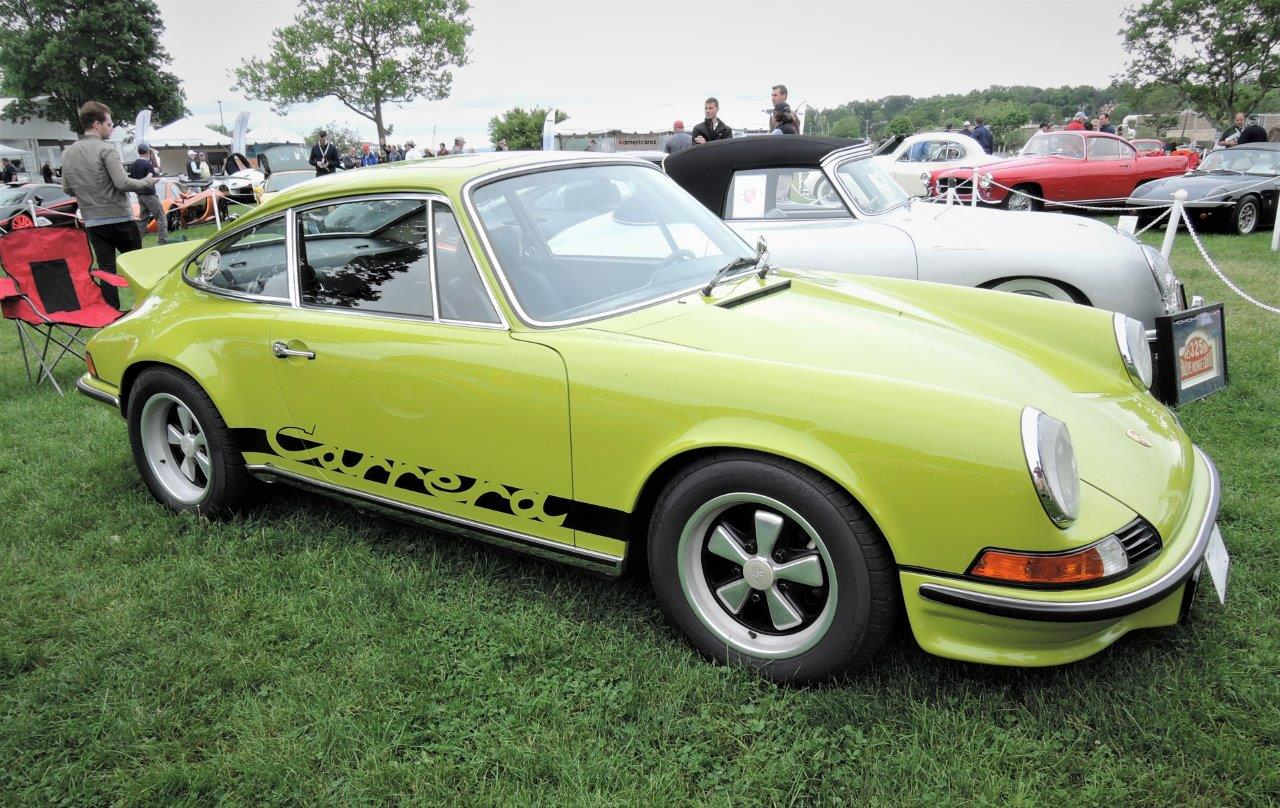 1973 Porsche RS - 2018 Greenwich Concours International