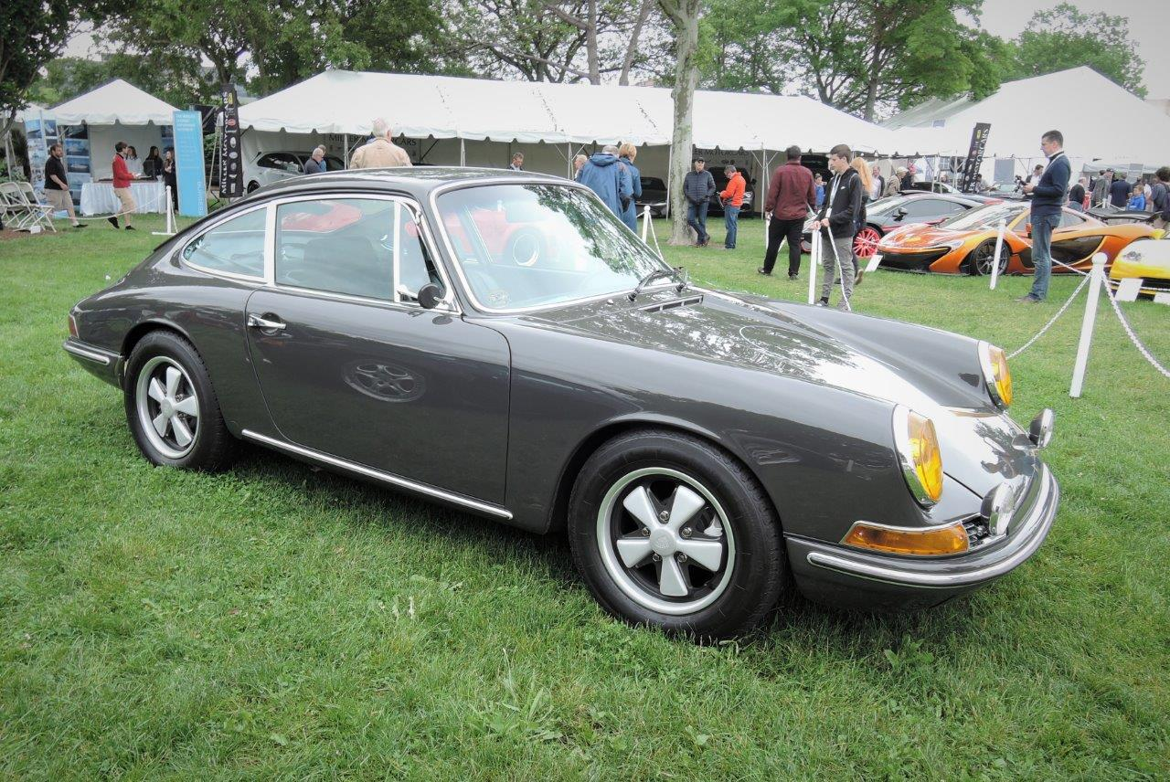 grey 1968 Porsche 912 - 2018 Greenwich Concours International