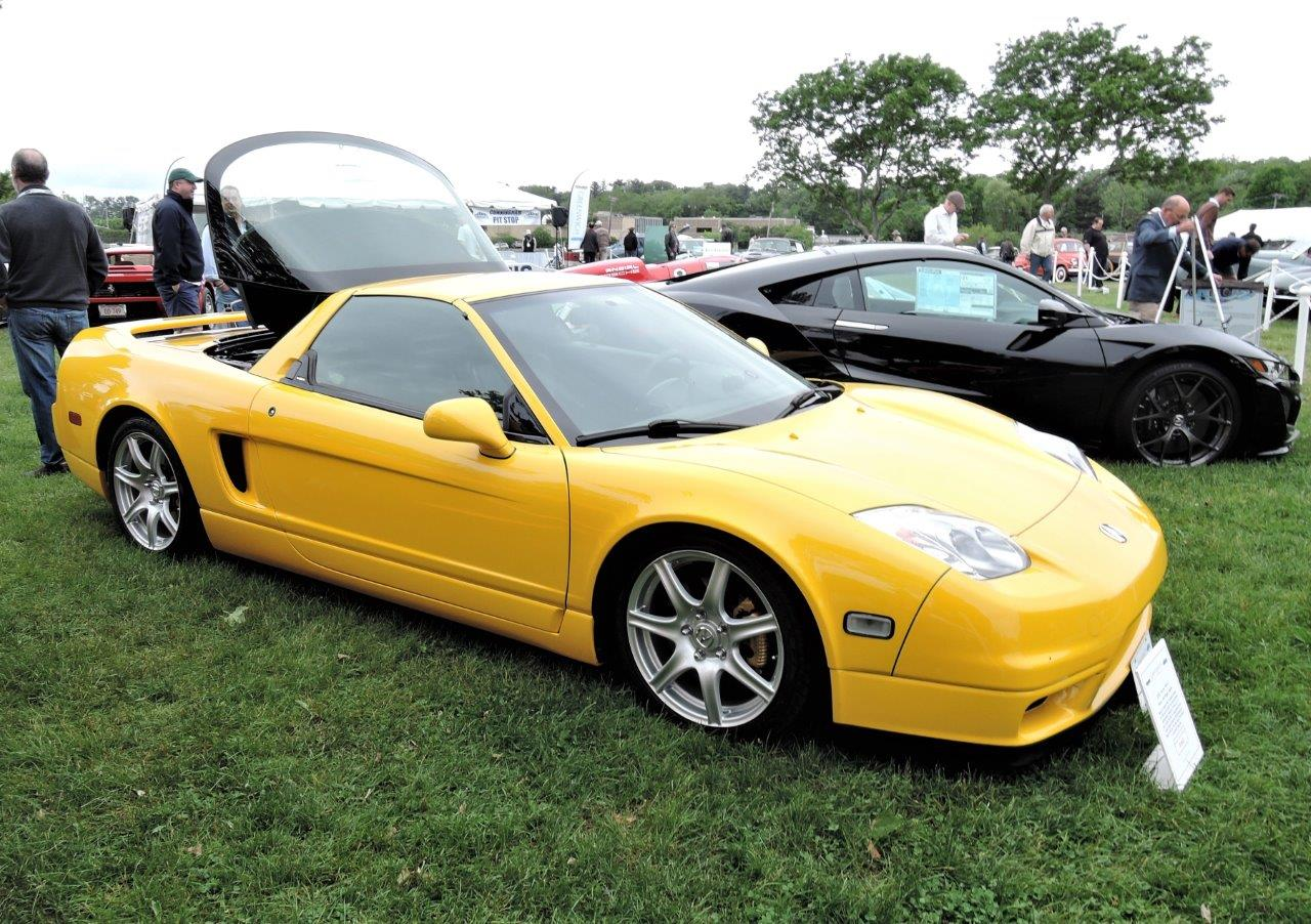 yellow 2002 Acura NSX-T - 2018 Greenwich Concours International