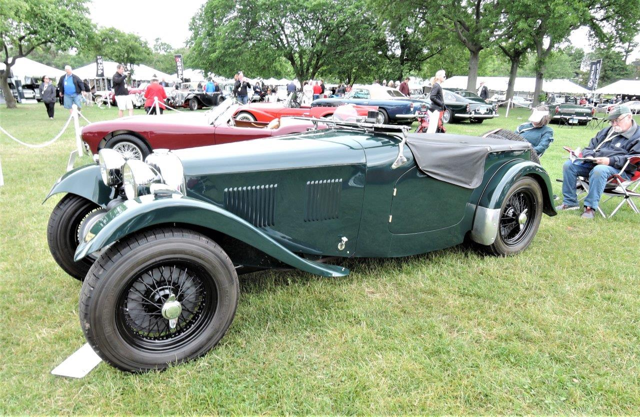 green 1950 HRG 1500 Roadster - 2018 Greenwich Concours International