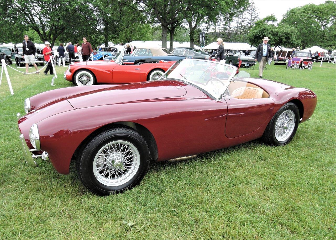 red 1962 AC Ace 2.6 Ruddspeed - 2018 Greenwich Concours International