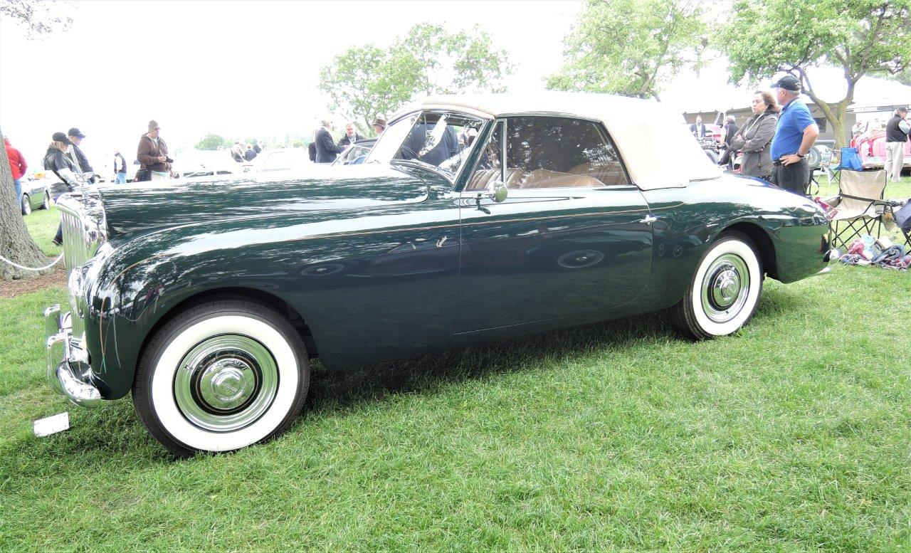 teal green 1952/1953 Bentley Mark VI - 2018 Greenwich Concours International