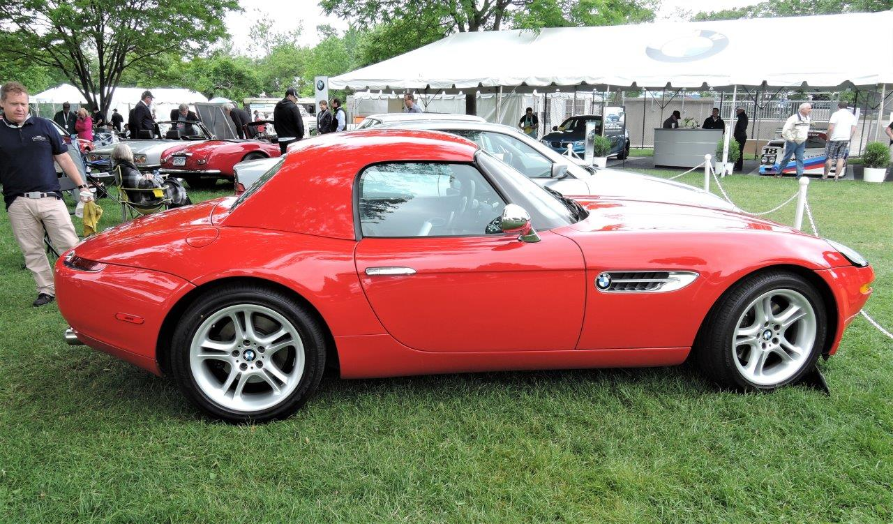 red 2002 BMW Z8 - 2018 Greenwich Concours International