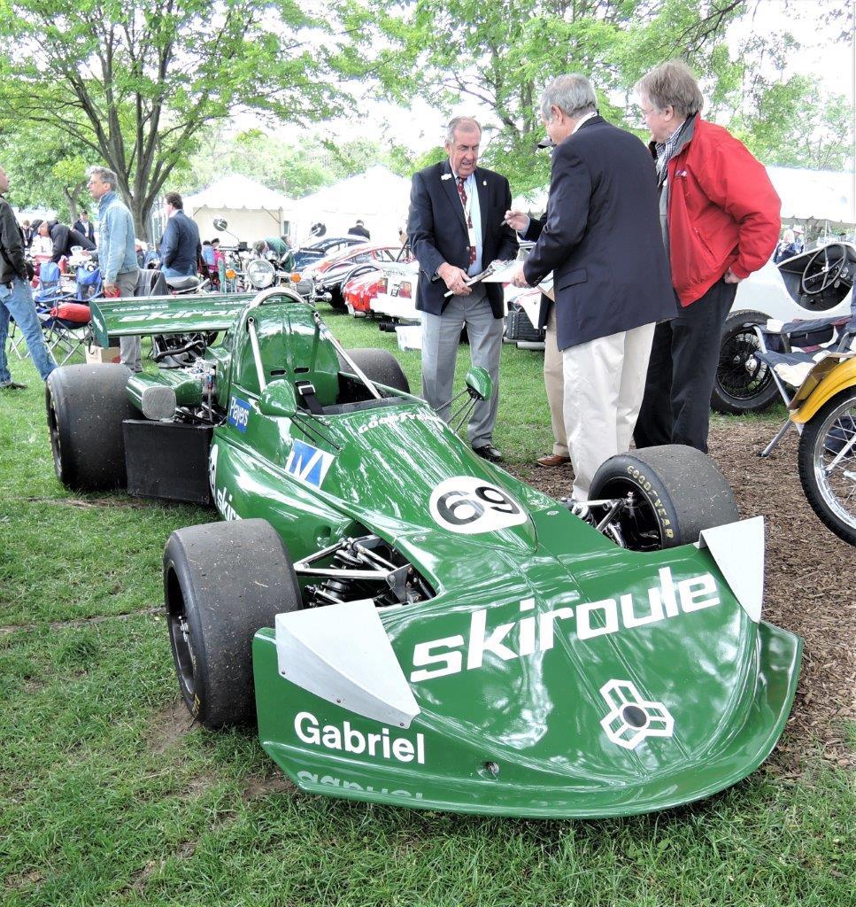 green 1975 March 75B Formula Atlantic - 2018 Greenwich Concours International