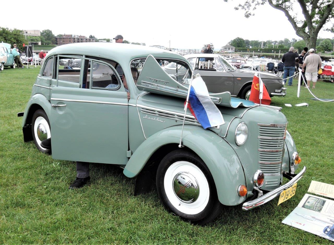 green 1951 Moskvitch 400 Sedan - 2018 Greenwich Concours International