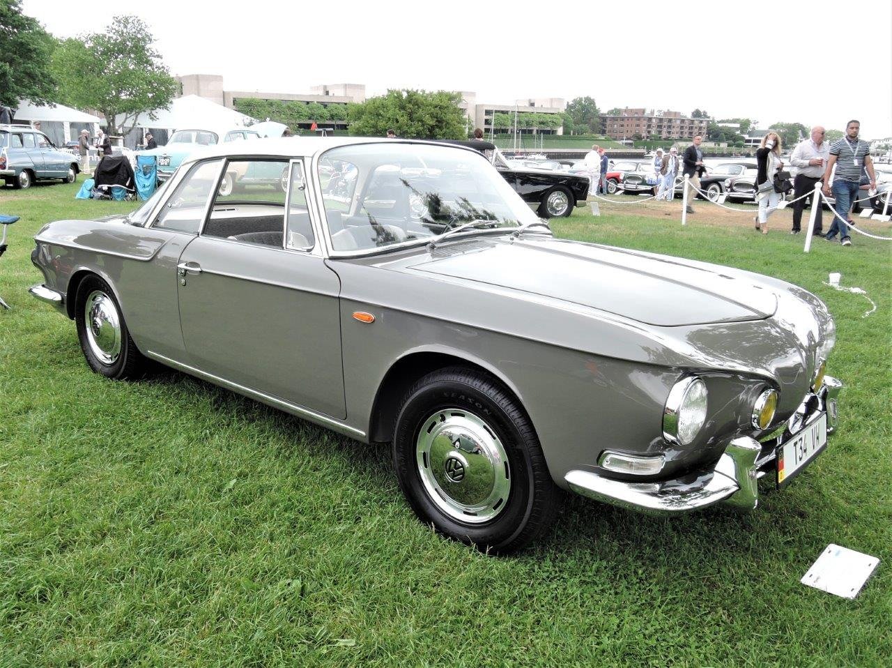 grey 1963 Volkswagen Type 34 - 2018 Greenwich Concours International