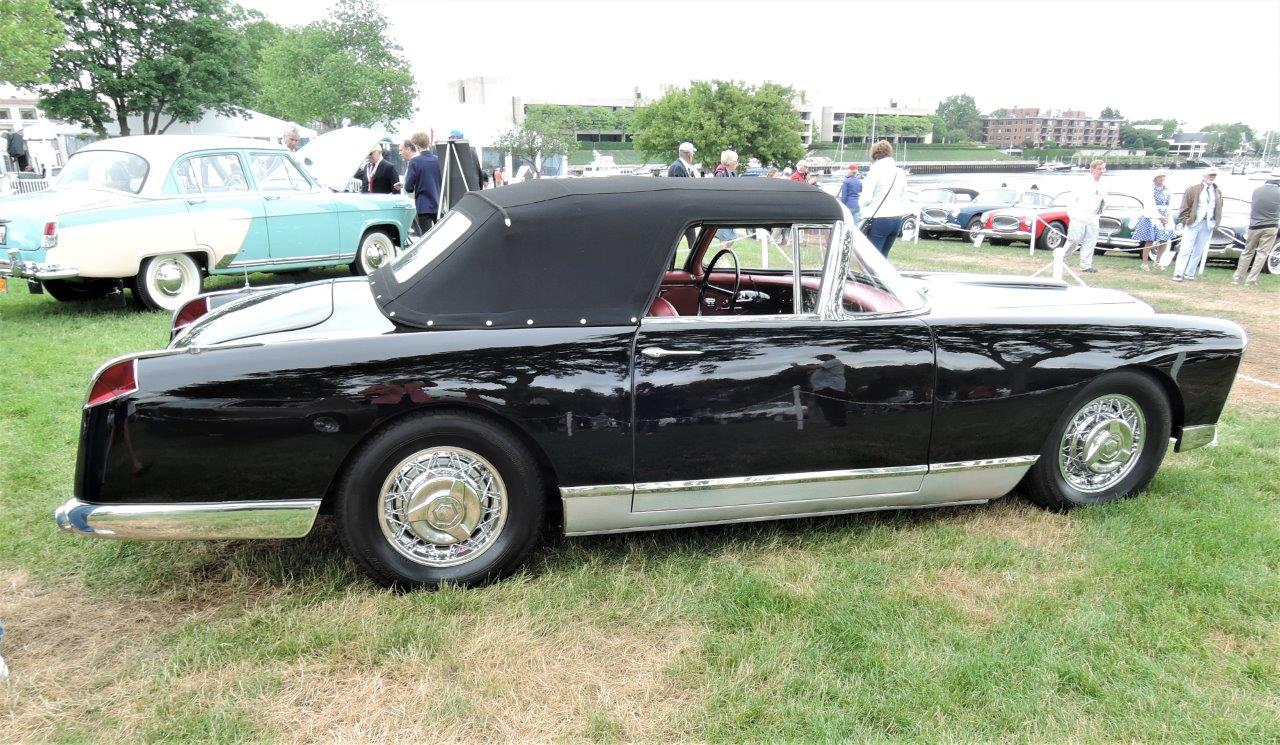 black 1957 Facel Vega FV2B Convertible - 2018 Greenwich Concours International