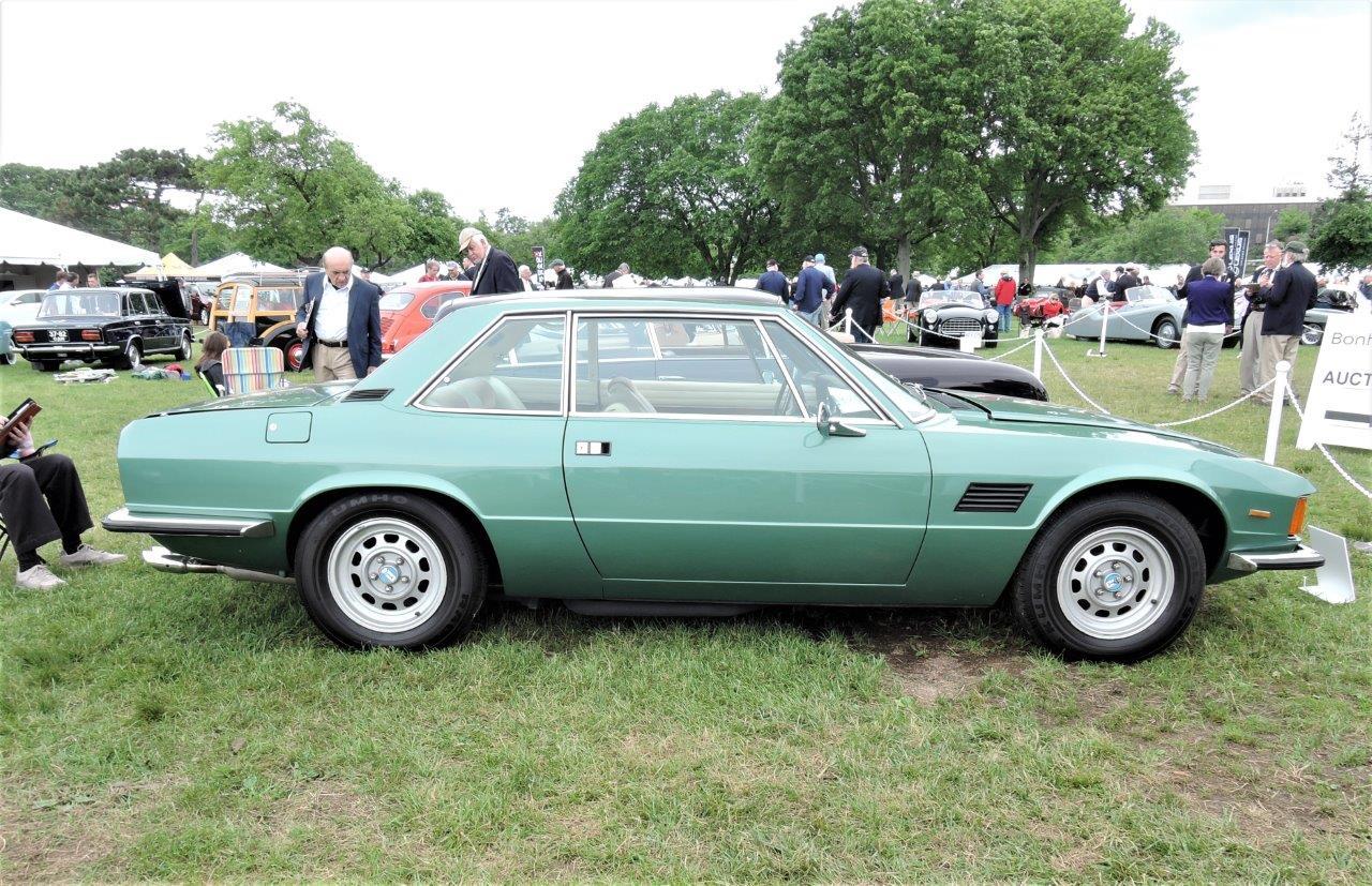 green 1974 De Tomaso Longchamp - 2018 Greenwich Concours International