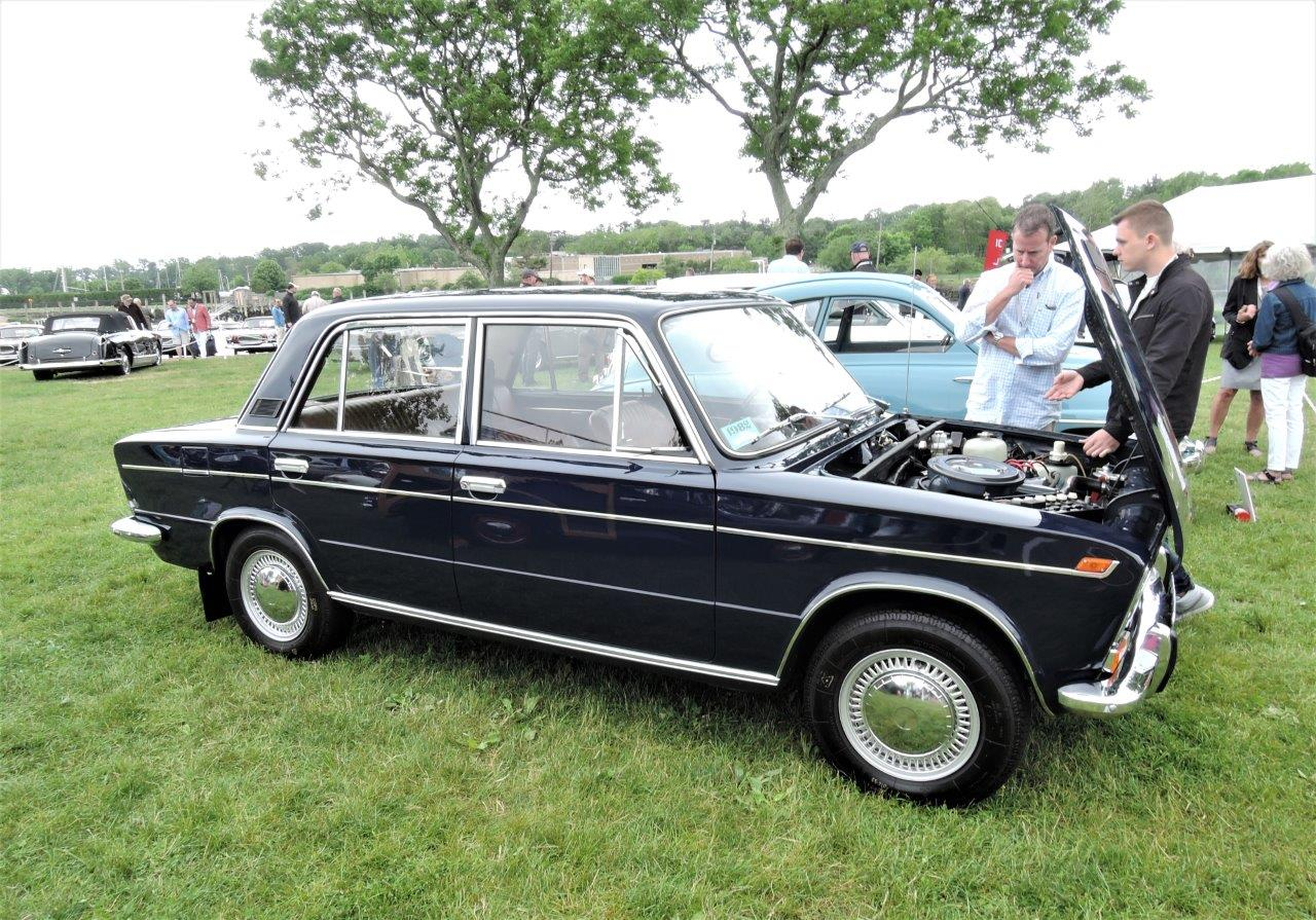 black 1982 VAZ 21033 Sedan - 2018 Greenwich Concours International