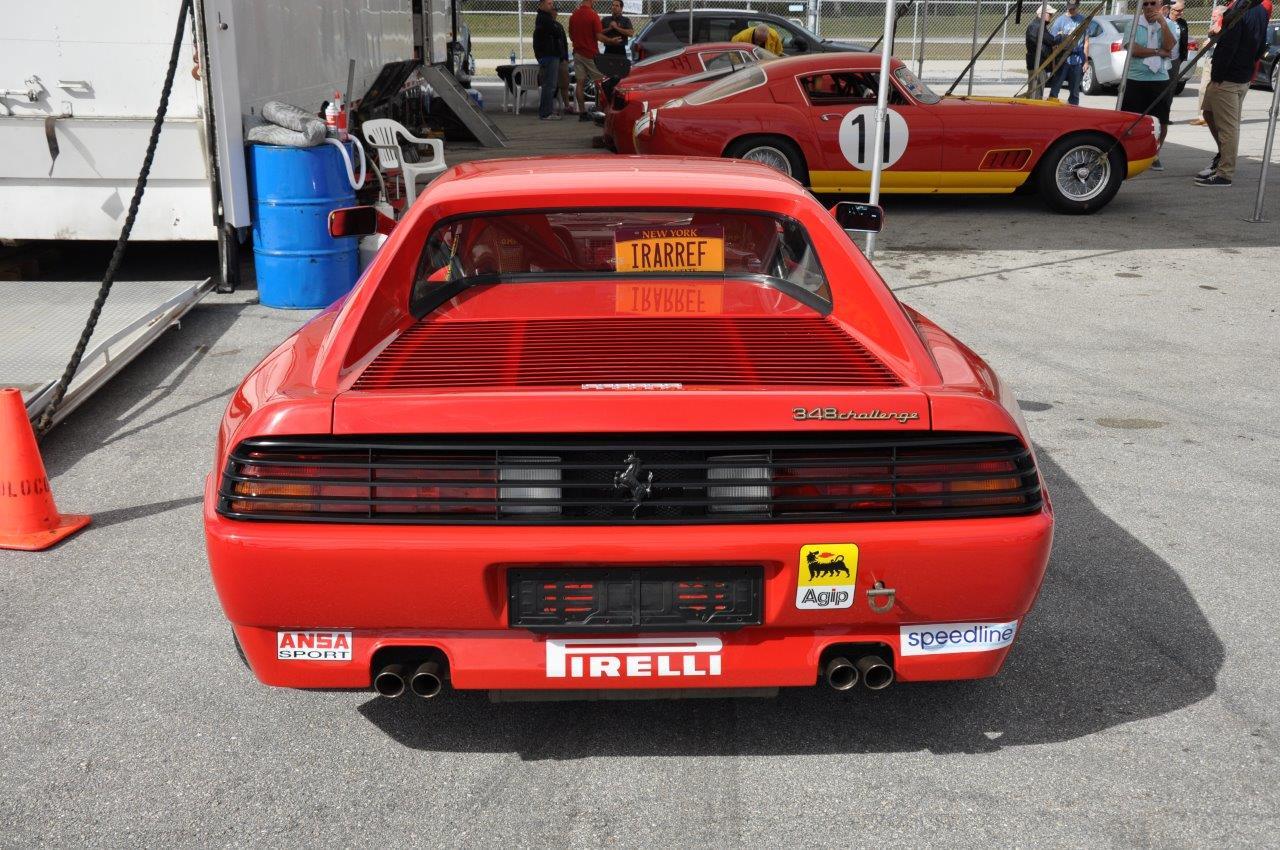 red Ferrari 348 Challenge Car - Cavallino 2018 Concours PBIR
