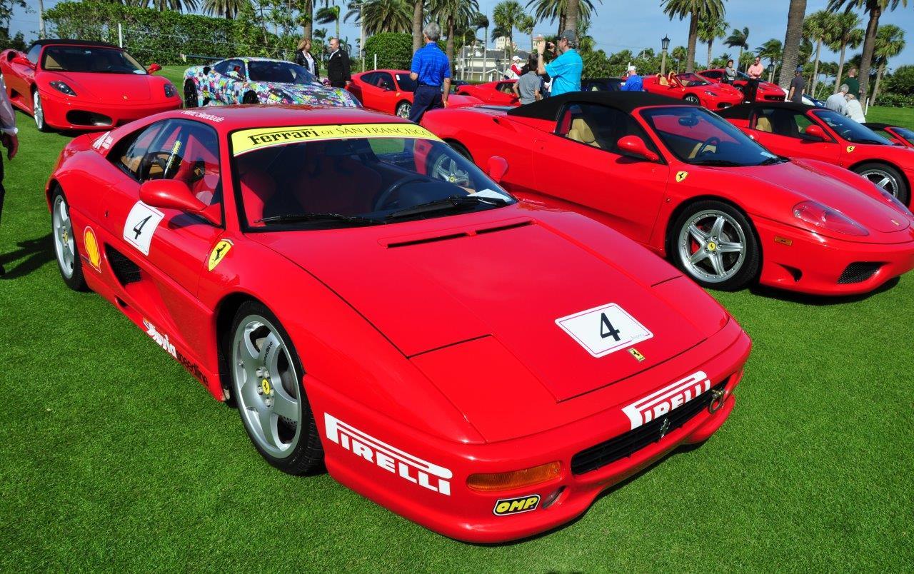 red 1995 Ferrari 355 Challenge Car; Sn 104415 - Cavallino 2018 Concours