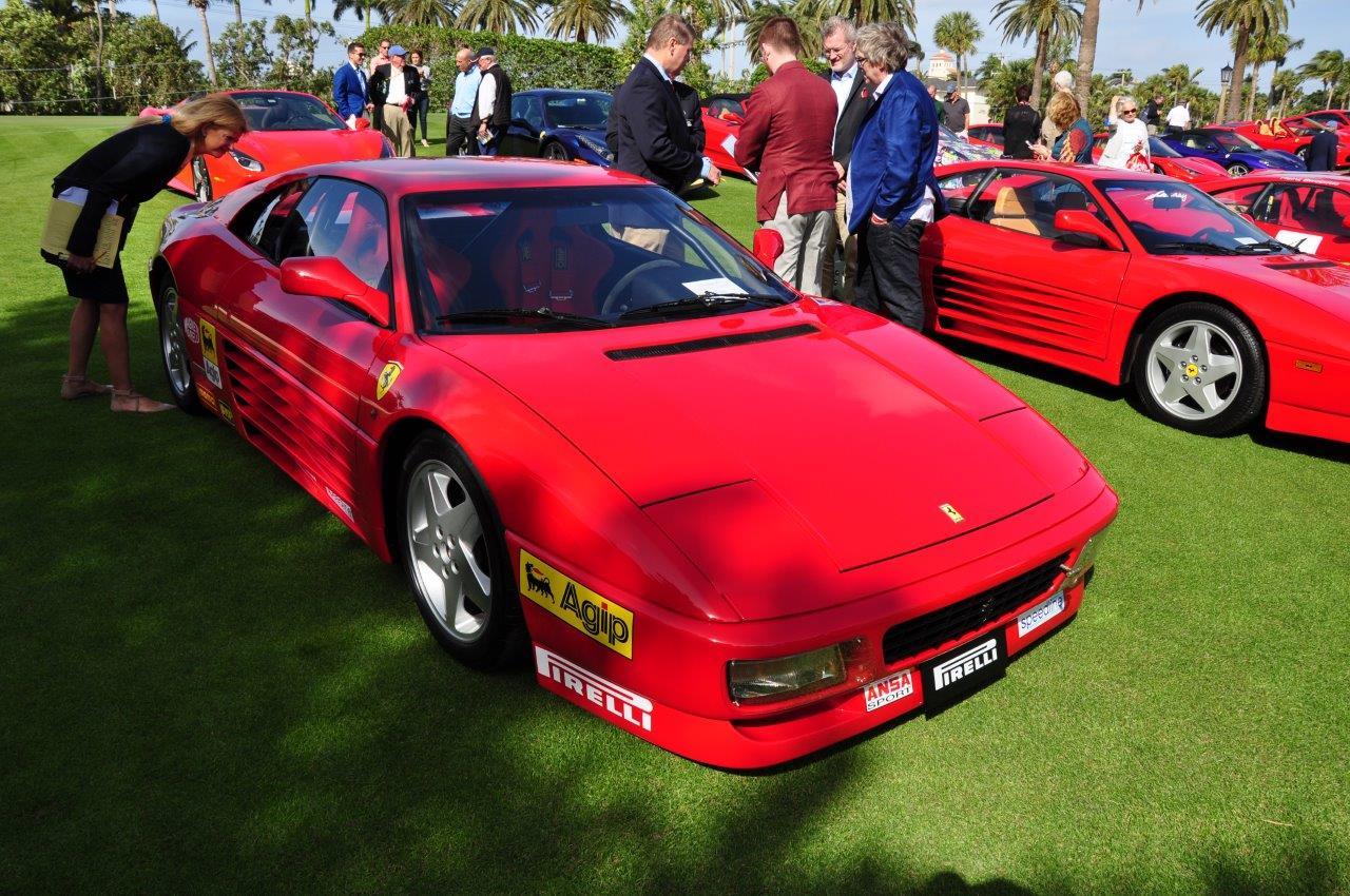 red 1992 Ferrari 348 Challenge Car; Sn 94984 - Cavallino 2018 Concours