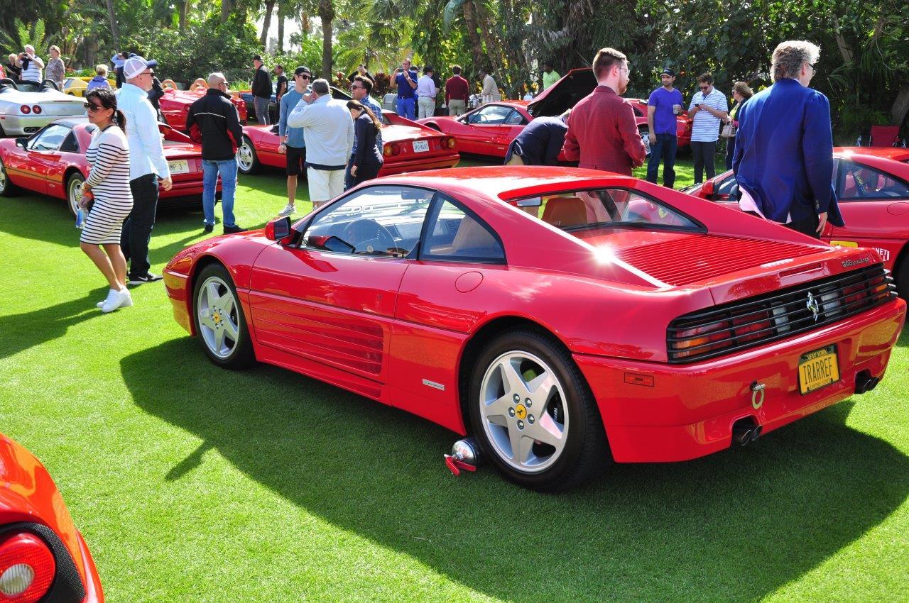 red 1994 Ferrari 348 Challenge Car; Sn 97985 - Cavallino 2018 Concours